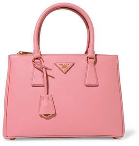 Prada Galleria Medium Textured-leather Tote - Pink