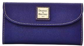 Dooney & Bourke Saffiano Continental Clutch Wallet - MARINE - STYLE