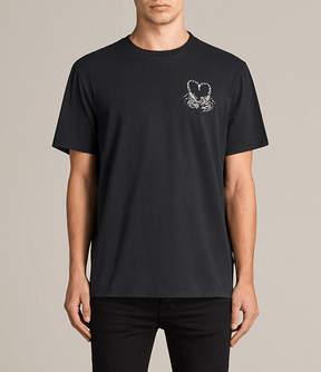 AllSaints Scorpy Switch Crew T-Shirt