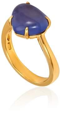 Bvlgari Sassi 18K Yellow Gold Ring - Size 54 (US 7)