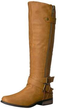 Rampage Womens Hansel Closed Toe Knee High Fashion Boots.