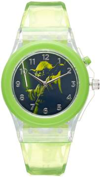 Star Wars Kohl's Yoda Kids' Light-Up Watch