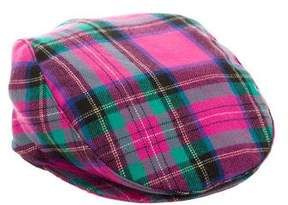 Dolce & Gabbana Plaid Wool Hat