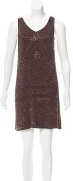 Calypso Beaded Mini Dress w/ Tags