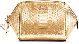 Victoria's Secret Victorias Secret Luxe Python On-The-Go Beauty Bag