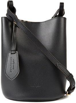Burberry Small Grainy Shoulder Bag - BLACK - STYLE