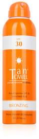 TanTowel Broad Spectrum SPF 30 Sunscreen Mist - Bronzing