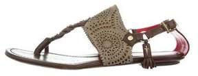 Cesare Paciotti Multistrap Laser Cut Sandals