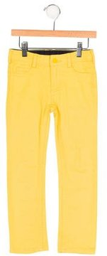 Jacadi Boys' Five Pocket Flat Front Jeans