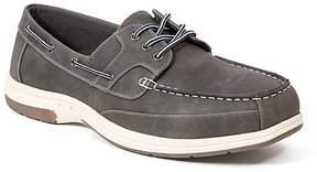 Deer Stags Dark Gray Mitch Boat Shoe - Men