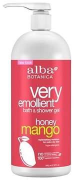 Alba Very Emollient Honey Mango Bath & Shower Gel 32oz