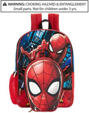 Spiderman Backpack & Lunch Bag, Little & Big Boys