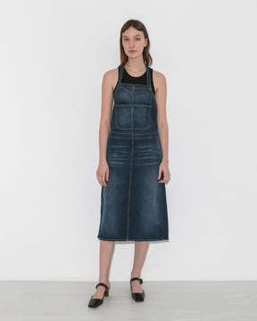 6397 Denim Apron Dress