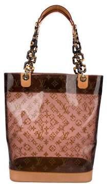 Louis Vuitton Cabas Sac Ambre MM w/ Pouch
