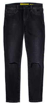 GUESS Regular-Fit Slashed-Knee Jeans (7-18)