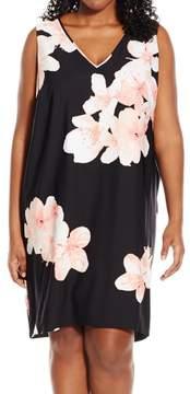 Calvin Klein Women's Floral Print Shift Dress