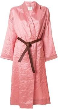 Forte Forte belted kimono coat