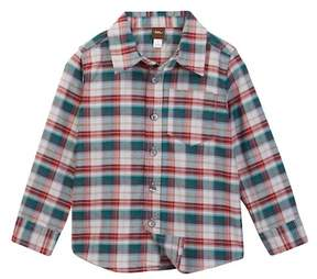 Tea Collection Joji Plaid Shirt (Toddler, Little Boys, & Little Boys)