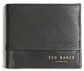 Ted Baker Men's Mixdup Leather Wallet - Black