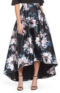 Eliza J Floral High/Low Skirt