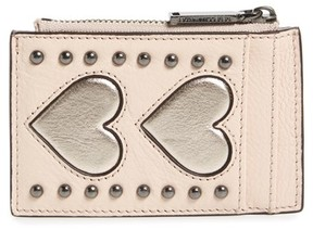 Rebecca Minkoff Women's Leather Card Case - Ivory - IVORY - STYLE