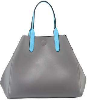 Neiman Marcus Two-Tone Reversible Tote Bag