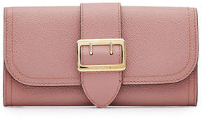 Burberry Leather Wallet - PINK - STYLE