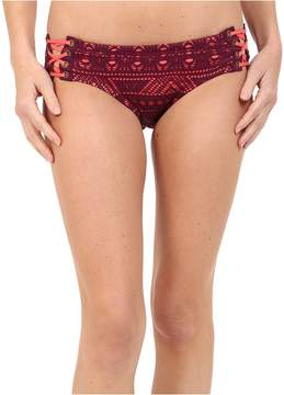 Becca by Rebecca Virtue La Boheme Lace Side Hipster Bottom Women's Swimwear