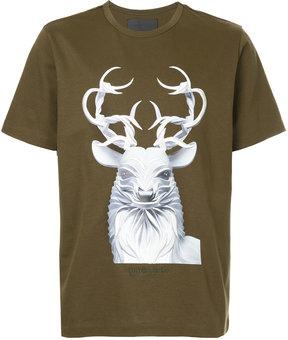 Juun.J short sleeved printed T-shirt