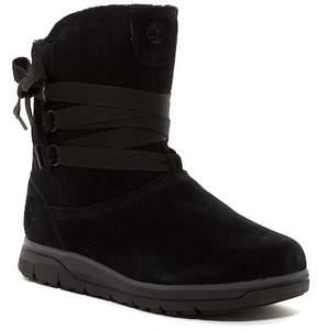 Timberland Leighton Pull-On Waterproof Suede Boot