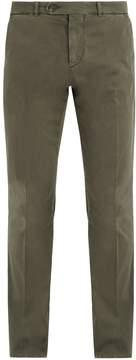 Brunello Cucinelli Straight-leg stretch-cotton chino trousers