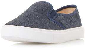 Head Over Heels *Head Over Heels by Dune Navy 'Elsaa' Trainers