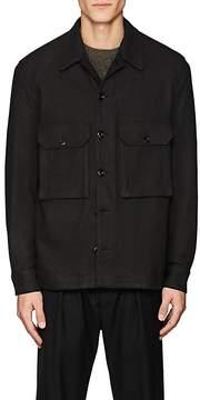 Lemaire Men's Flannel Shirt Jacket