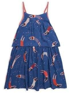 Catimini Little Girl's & Girl's Flapper Print Sundress