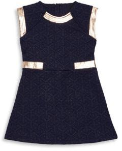 Petit Lem Little Girl's Quilted Dress