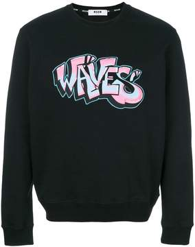 MSGM Waves sweatshirt