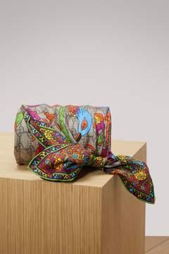 Gucci Jubilee print silk GG shawl