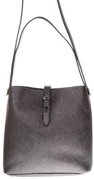 Hogan Grey Color Leather Bucket Bag