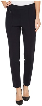 Ellen Tracy Leggings w/ Zip Pocket Detail Women's Clothing
