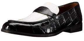 Stacy Adams Mens Corsica Leather Slip On Dress Oxfords.