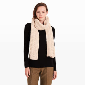 Club Monaco Adamaris Cable Scarf
