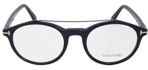 Tom Ford Ft5455 90 Round   Blue  Eyeglass Frames.