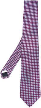 Lardini pattern jacquard tie