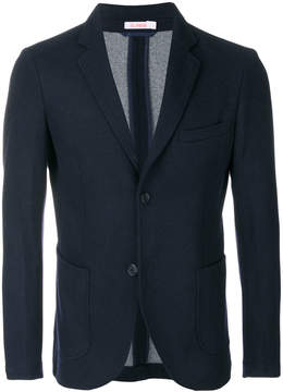 Sun 68 textured slim fit blazer