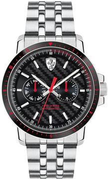 Ferrari Men's Turbo Stainless Steel Bracelet Watch 42mm