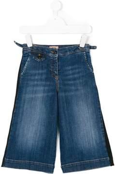 No.21 Kids side stripe jeans
