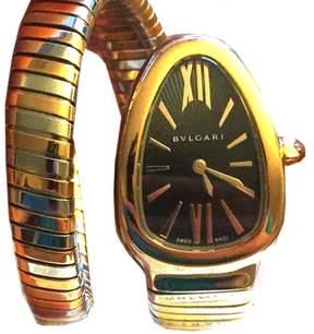 Bulgari Serpenti Tubogas SP35BSPG.1T 35mm Watch