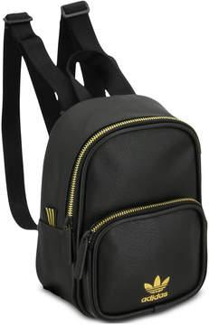 adidas Faux-Leather Mini-Backpack