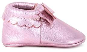 Freshly Picked Girls' Metallic Bow Moccasins - Baby