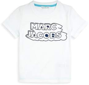 Little Marc Jacobs Little Boy's and Boy's Logo Cotton Tee